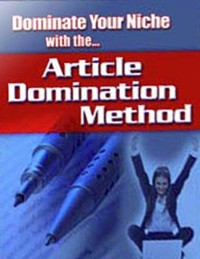 Cover Dominate Your Niche With the Article Domination Method