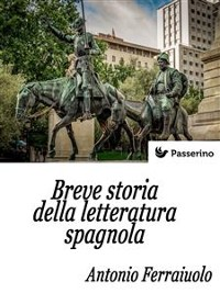 Cover Breve storia della letteratura spagnola