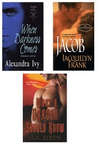 Cover Supernatural Bundle with What a Dragon Should Know, When Darkness Comes & Jacob