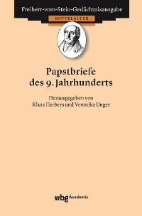 Cover Papstbriefe des 9. Jahrhunderts