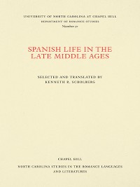 Cover Spanish Life in the Late Middle Ages