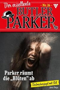 Cover Der exzellente Butler Parker 26 – Kriminalroman