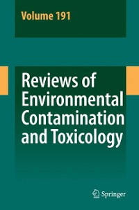 Cover Reviews of Environmental Contamination and Toxicology 191