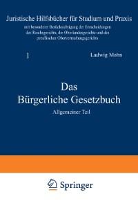 Cover Das Burgerliche Gesetzbuch