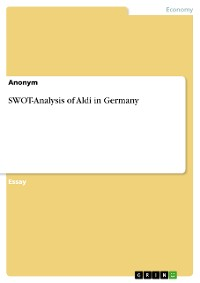 Cover SWOT-Analysis of Aldi in Germany