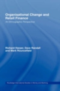 Cover Organisational Change and Retail Finance