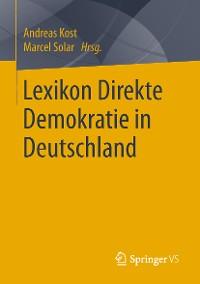 Cover Lexikon Direkte Demokratie in Deutschland