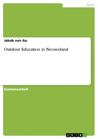 Cover Outdoor Education in Neuseeland