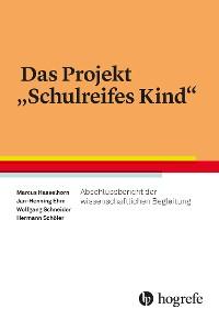"Cover Das Projekt ""Schulreifes Kind"""