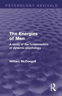 Cover Energies of Men (Psychology Revivals)