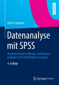 Cover Datenanalyse mit SPSS