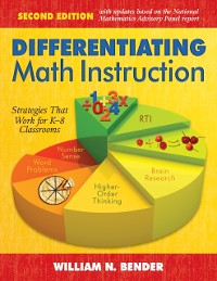 Cover Differentiating Math Instruction, K-8