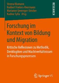Cover Forschung im Kontext von Bildung und Migration