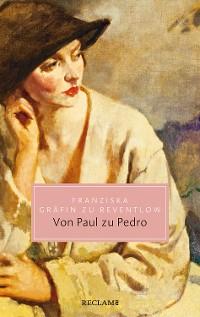 Cover Von Paul zu Pedro. Amouresken