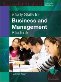 Cover EBOOK: Study Skills For Business And Management Students