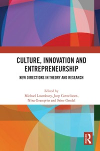 Cover Culture, Innovation and Entrepreneurship