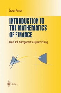 Cover Introduction to the Mathematics of Finance