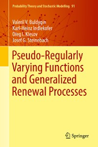 Cover Pseudo-Regularly Varying Functions and Generalized Renewal Processes
