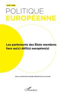 Cover Parlement des etat membres face au(x) defi(s) europeen(s) (Les)