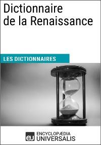 Cover Dictionnaire de la Renaissance