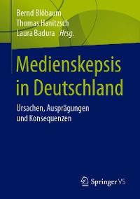 Cover Medienskepsis in Deutschland