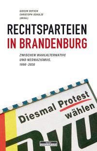 Cover Rechtsparteien in Brandenburg