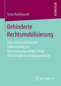 Cover Behinderte Rechtsmobilisierung