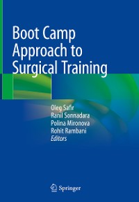 Cover Boot Camp Approach to Surgical Training