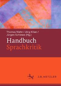Cover Handbuch Sprachkritik