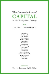 Cover The Contradictions of Capital in the Twenty-First Century