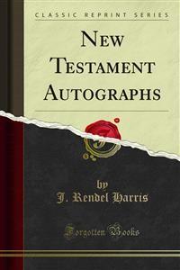 Cover New Testament Autographs