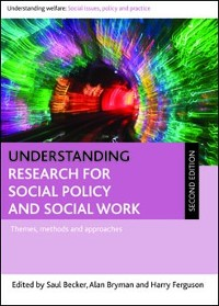 Cover Understanding Research for Social Policy and Social Work 2E
