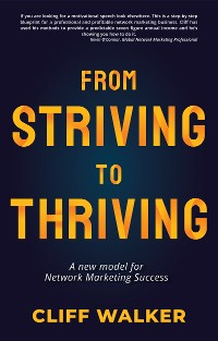 Cover From Striving to Thriving