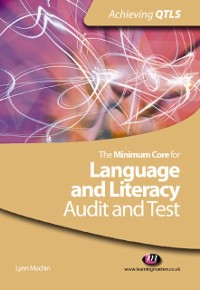 Cover Minimum Core for Language and Literacy: Audit and Test