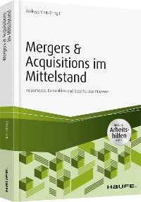 Cover Mergers & Acquisitions im Mittelstand - inkl. Arbeitshilfen online