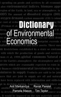 Cover Dictionary of Environmental Economics