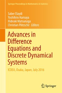 Cover Advances in Difference Equations and Discrete Dynamical Systems