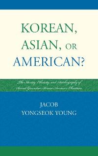 Cover Korean, Asian, or American?