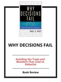 Cover Why Decisions Fail