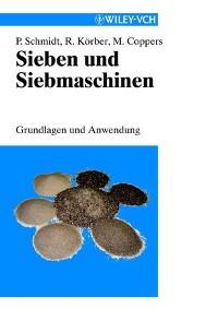 Cover Sieben und Siebmaschinen