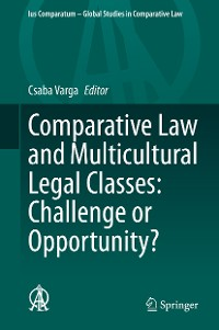 Cover Comparative Law and Multicultural Legal Classes: Challenge or Opportunity?