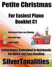Cover Petite Christmas for Easiest Piano Booklet C1
