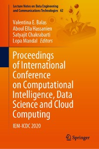 Cover Proceedings of International Conference on Computational Intelligence, Data Science and Cloud Computing