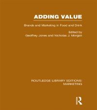 Cover Adding Value (RLE Marketing)