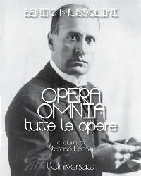 Cover Opera omnia di Benito Mussolini