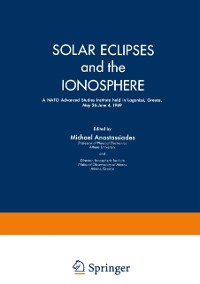 Cover Solar Eclipses and the Ionosphere