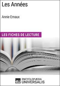 Cover Les Années d'Annie Ernaux