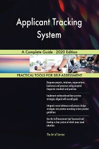 Cover Applicant Tracking System A Complete Guide - 2020 Edition