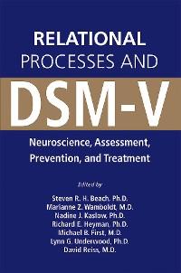 Cover Relational Processes and DSM-V