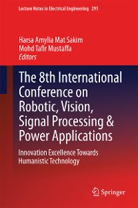 Cover The 8th International Conference on Robotic, Vision, Signal Processing & Power Applications